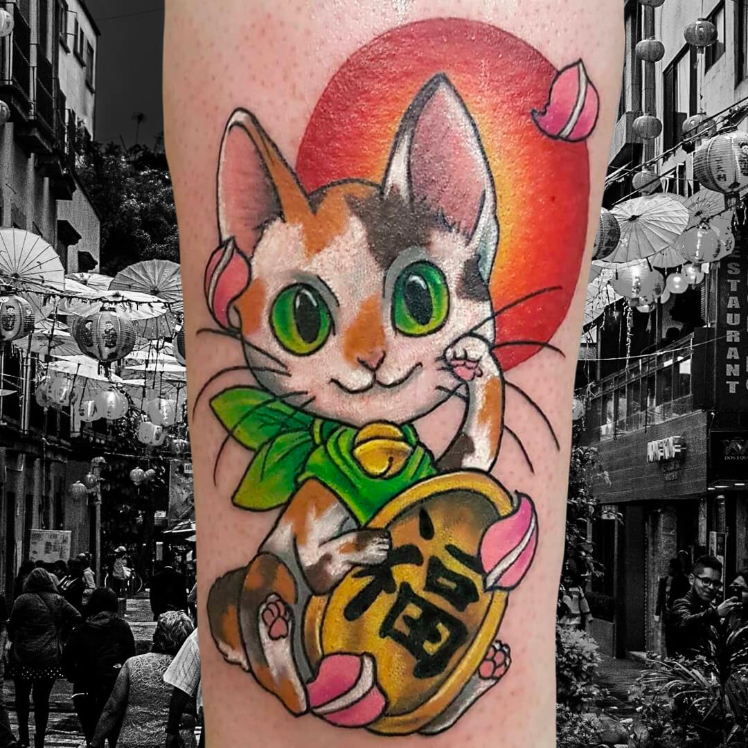 Mark Lucky Cat